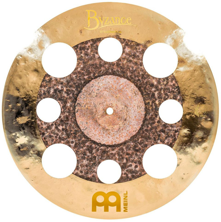 "Meinl Byzance 16"" Dual Trash Crash with Holes"