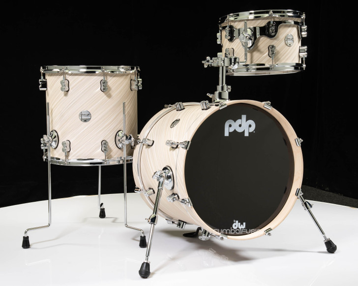 PDP Concept Maple 3pc Bop Kit - Twisted Ivory