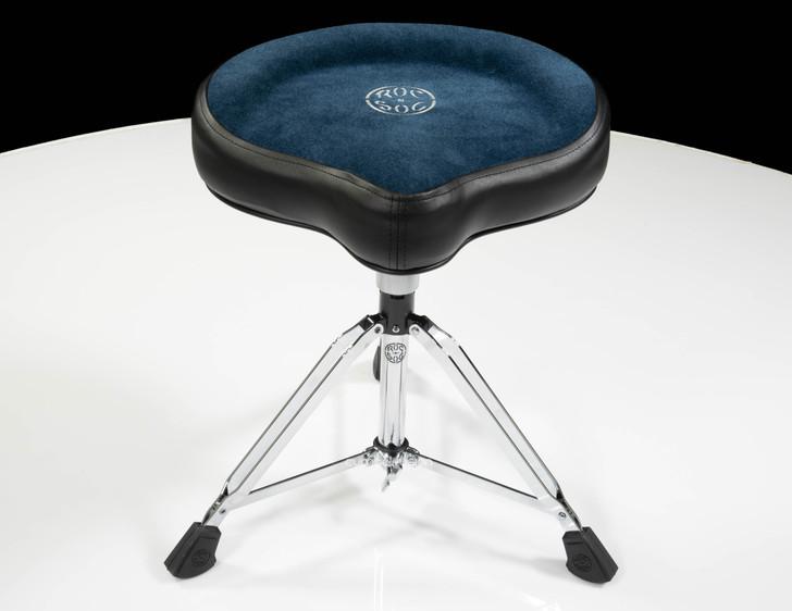 Roc-n-Soc Manual Spindle Original Saddle Seat Blue