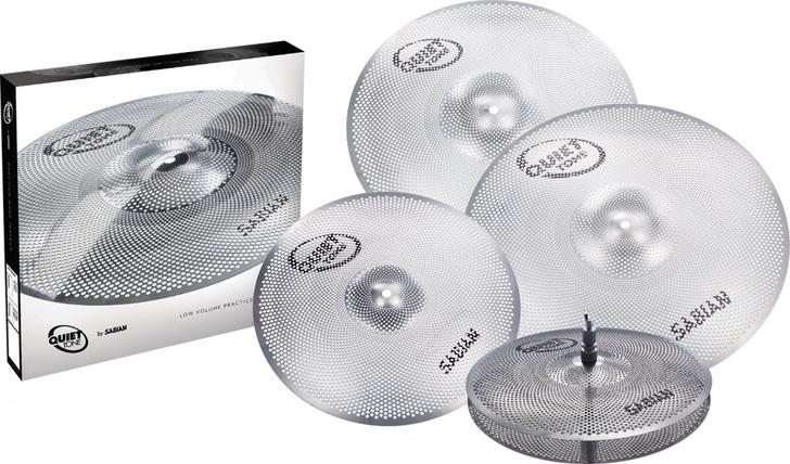 Sabian Quiet Tone Practice Cymbals Pack 14/16/18/20