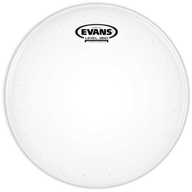 "Evans Genera Dry Snare Batter Drum Head - 14"""