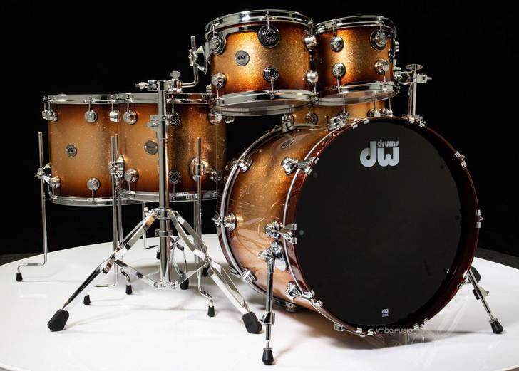 DW Contemporary Classics 6pc Shell Pack - Copper Glitz