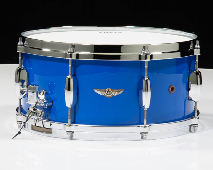 Tama Star Walnut 6.5x14 Snare - Grand Royal Blue