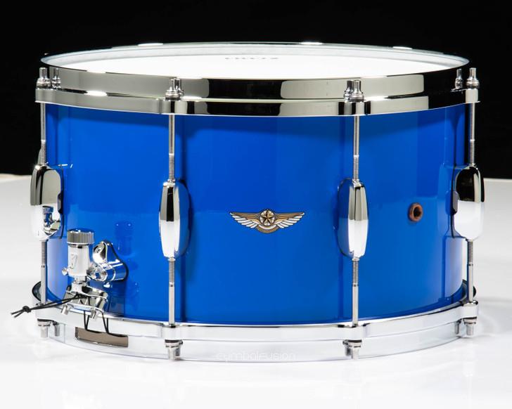 Tama Star Walnut 8x14 Snare - Grand Royal Blue