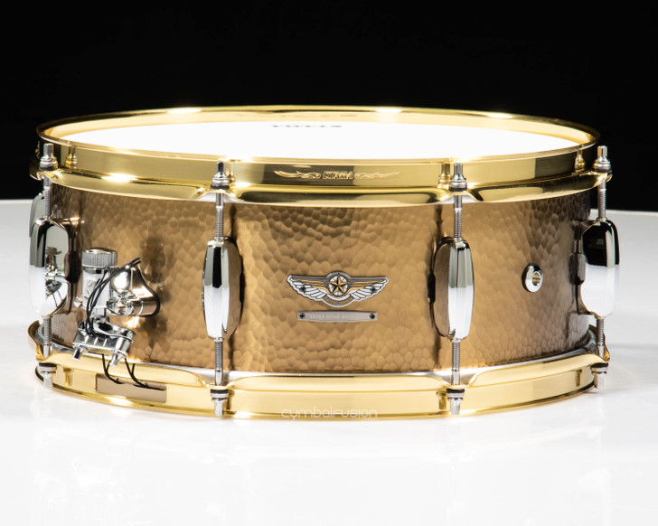 Tama Star Reserve Hand Hammered Brass Snare 5.5x14 Snare Drum