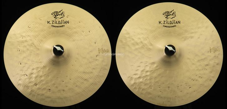 "Zildjian 15"" K Constantinople  Hi-Hat Pair (1284g Top, 1522g Bottom)"