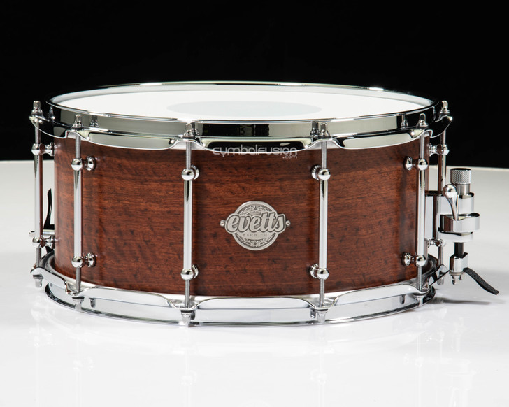 Evetts 6.5x14 Smooth Satin Jarrah Snare - Made in Australia