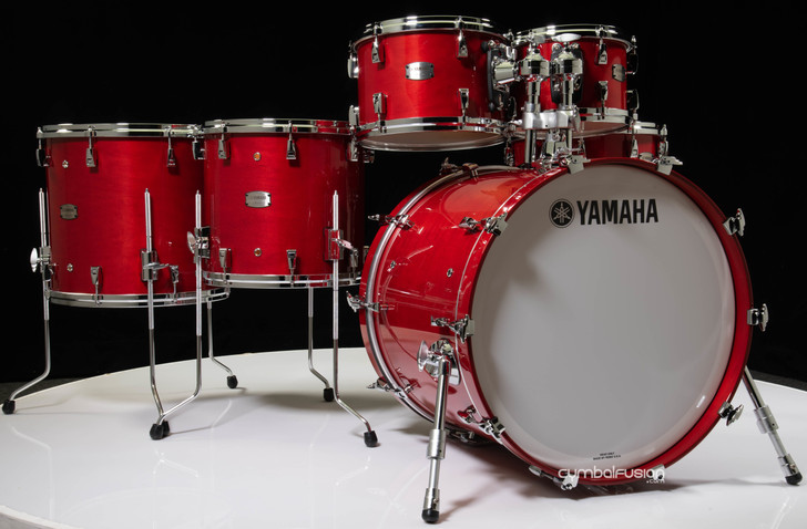 Yamaha Absolute Hybrid Maple 6pc Red Autumn 10/12/14/16/22/14SD