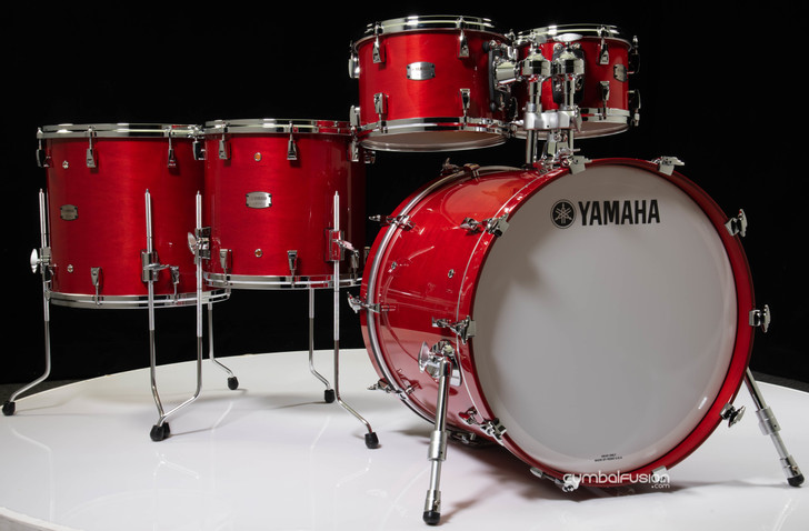 Yamaha Absolute Hybrid Maple 5pc Red Autumn 10/12/14/16/22