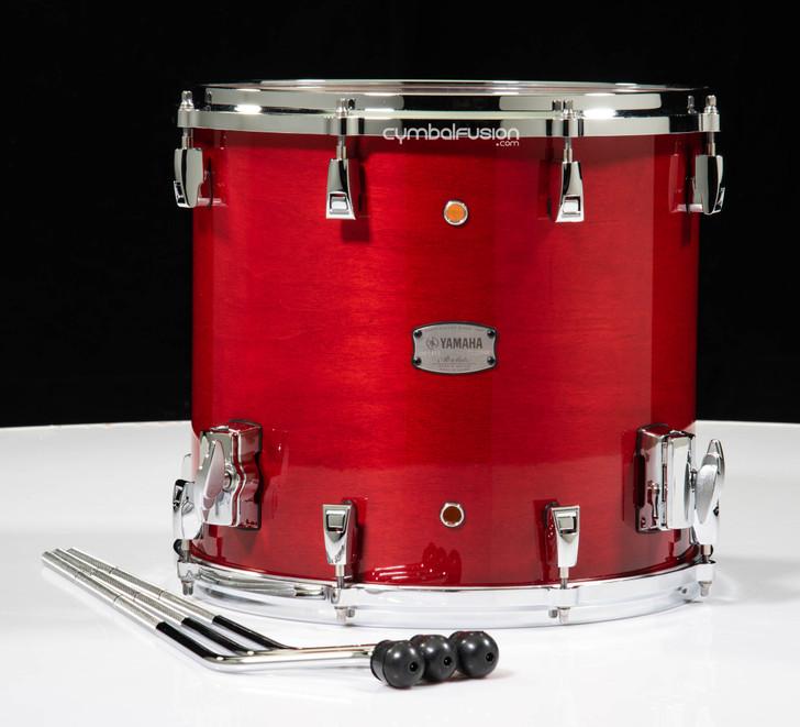 Yamaha Absolute Hybrid Maple 14x13 Floor Tom - Red Autumn