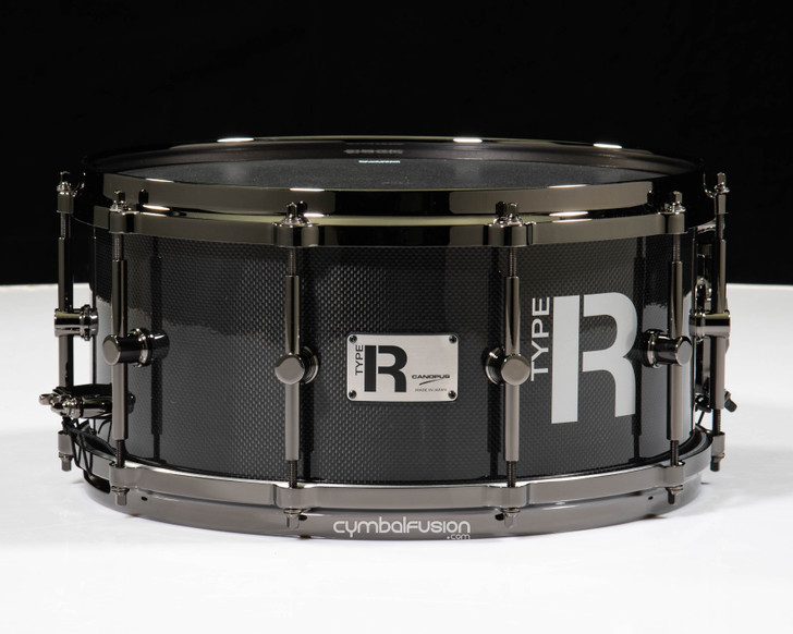 Canopus Type R Cannon 6.5x14 Carbon Fiber Snare Drum