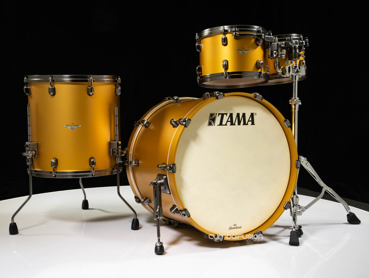 Tama Starclassic Maple 4pc Shell Pack - Satin Aztec Gold