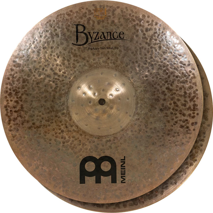 "Meinl Byzance 15"" Big Apple Dark Hi-Hat, pair"