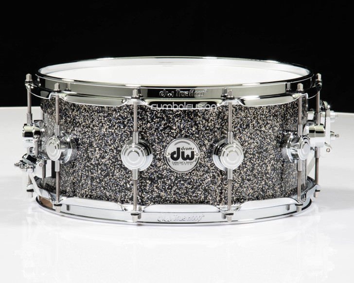 DW Collector's Series Snare 6x14 - Black Galaxy