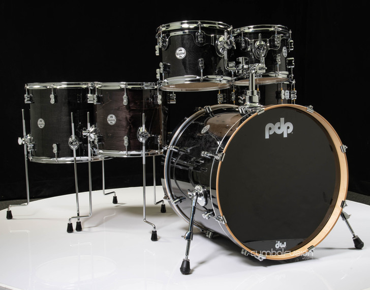 PDP Concept Maple 6pc Shell Pack - Ebony Stain