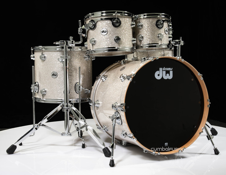 DW Collector's 5pc Pure Birch Shell Pack -Broken Glass