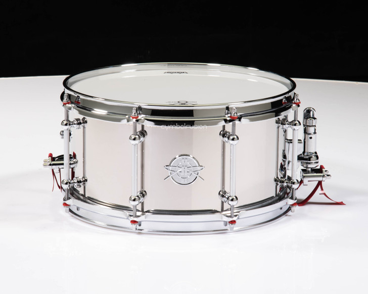 Dunnett Classic Stainless Steel 13x6.5 Snare Drum Polished