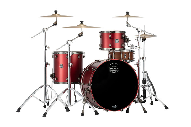 Saturn Evolution Hybrid Powerhouse 3pc Rock Kit - Tuscan Red