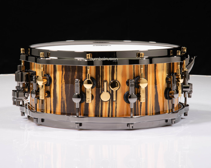 Sonor SQ2 14x6 Beech Snare Drum - Tiger High Gloss