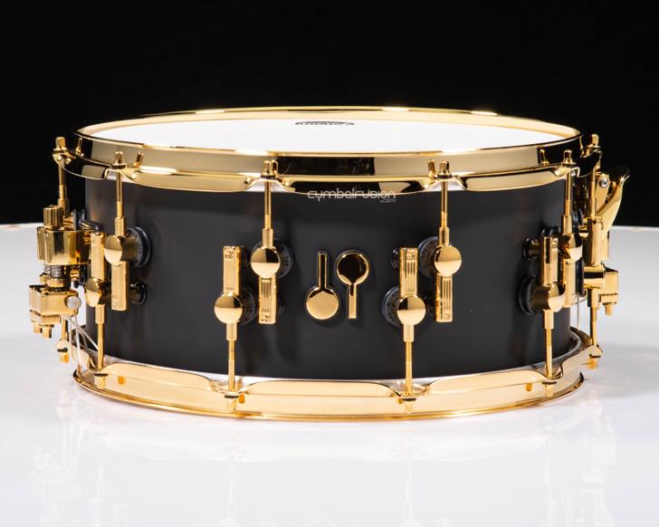 Sonor SQ2 14x6.5 Maple Snare Drum - Dark Satin