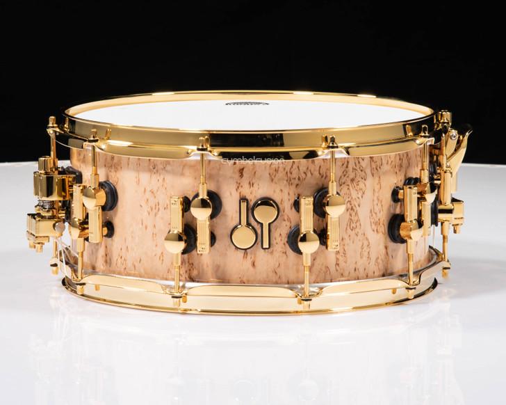 Sonor SQ2 14x6 Beech Snare Drum - Scandinavian Birch w/ Ebony