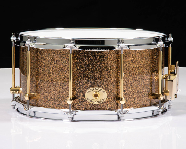 Noble & Cooley 7x14 Classic Solid Beech - Marigold Sparkle Lacquer
