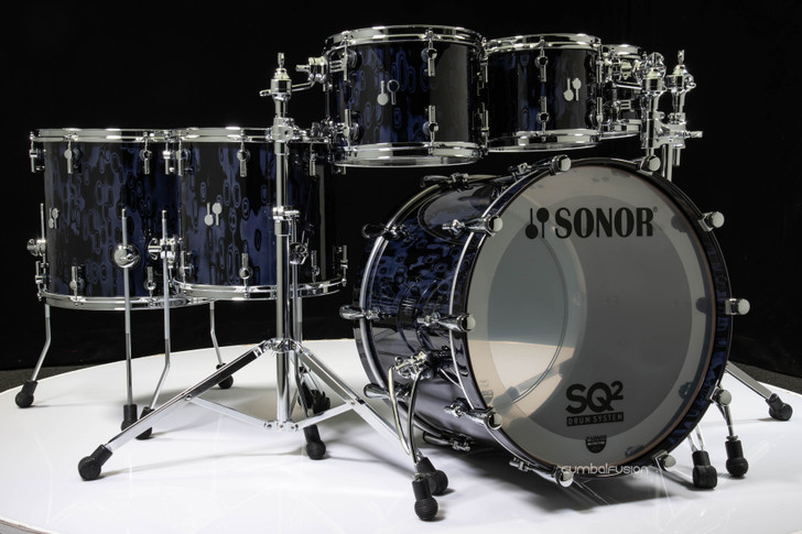 Sonor SQ2 6pc Beech Kit - Gray Tribal