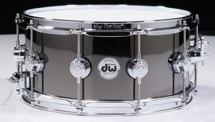 DW Collector's Series 6.5x14 Black Nickel over Brass Snare Drum