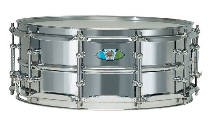 Ludwig 5.5x14 Supralite Steel Shell Snare Drum
