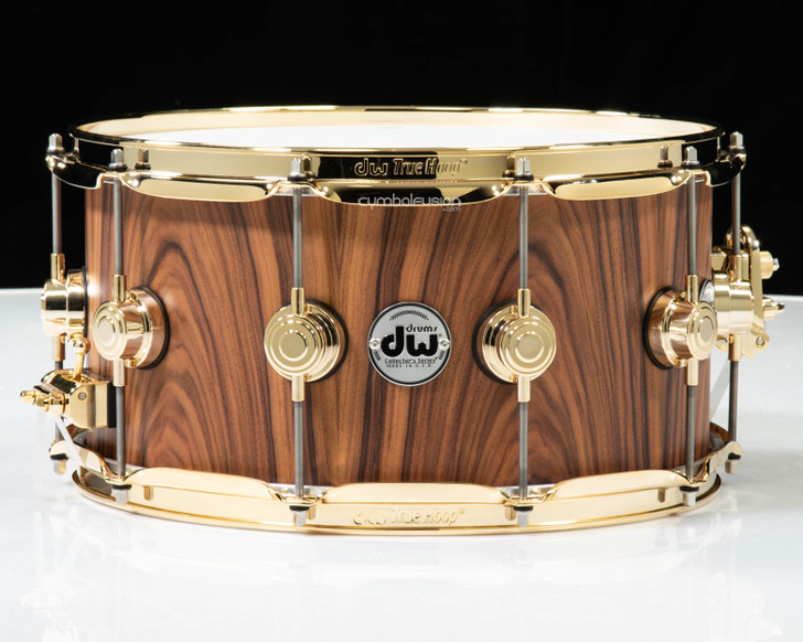DW Collector's 7x14 15ply 100% Santos Rosewood - Single Row Gold