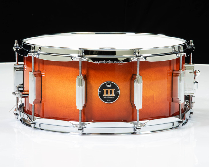 WFL III Drums 1728N Series 6.5x14 Maple Snare - Antique Maple Burst