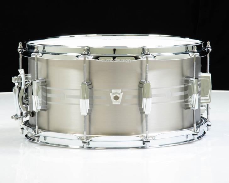 Ludwig Heirloom 7x14 Stainless Steel Snare Drum