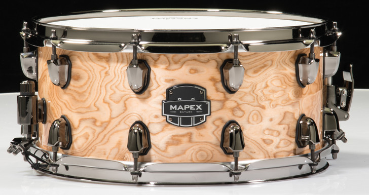 Mapex Saturn 14x6.5 Snare Drum - Natural Maple Burl