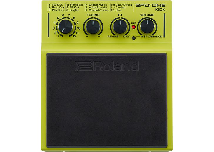 Roland SPD::ONE KICK Percussion Pad W/ 22 Internal Sounds (SPD-1K)