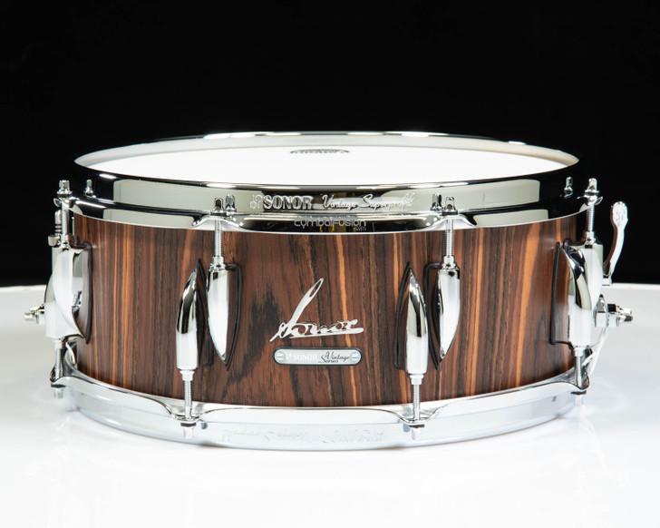 Sonor Vintage Series 14x5.75 Snare Drum - Rosewood
