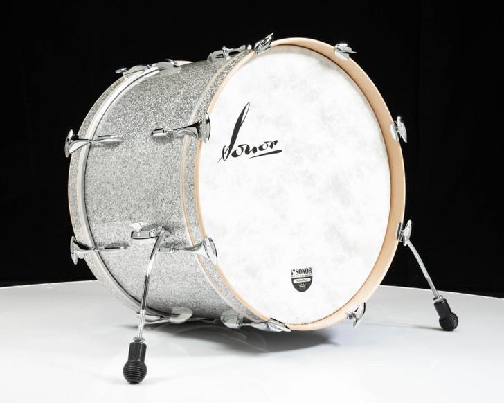 Sonor Vintage Series 22x14 Bass Drum- Vintage Silver Glitter