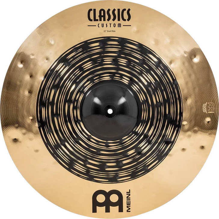 "Meinl Classics Custom 22"" Dual Ride"