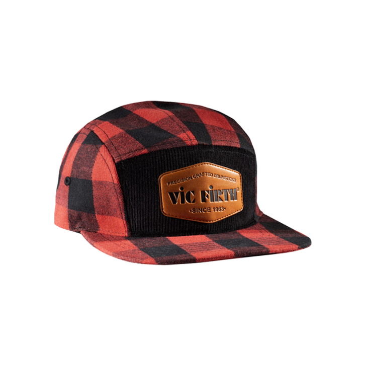 Vic Firth Flannel 5-Panel Camp Hat
