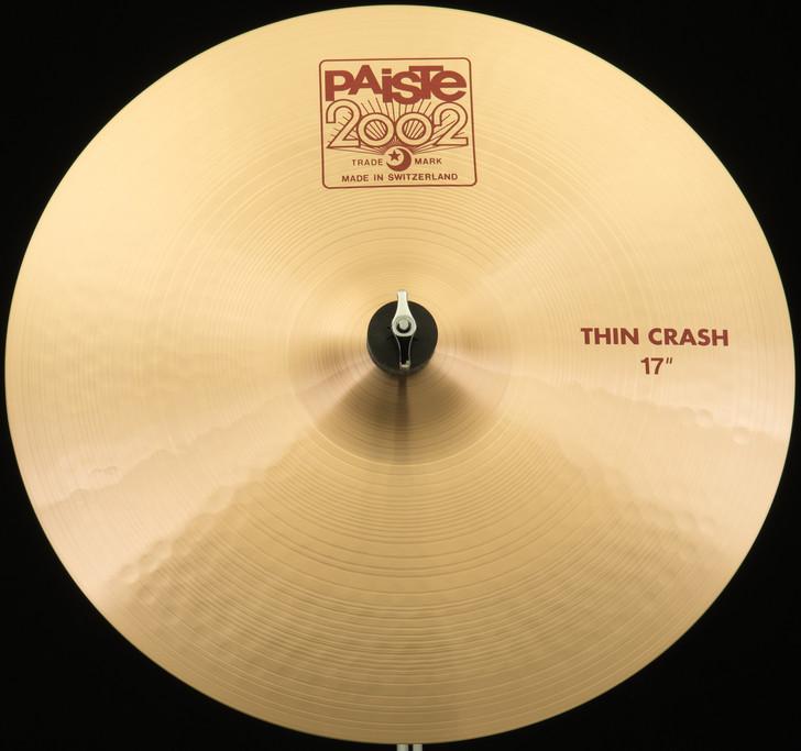 """Paiste 17"""" 2002 Thin Crash"""