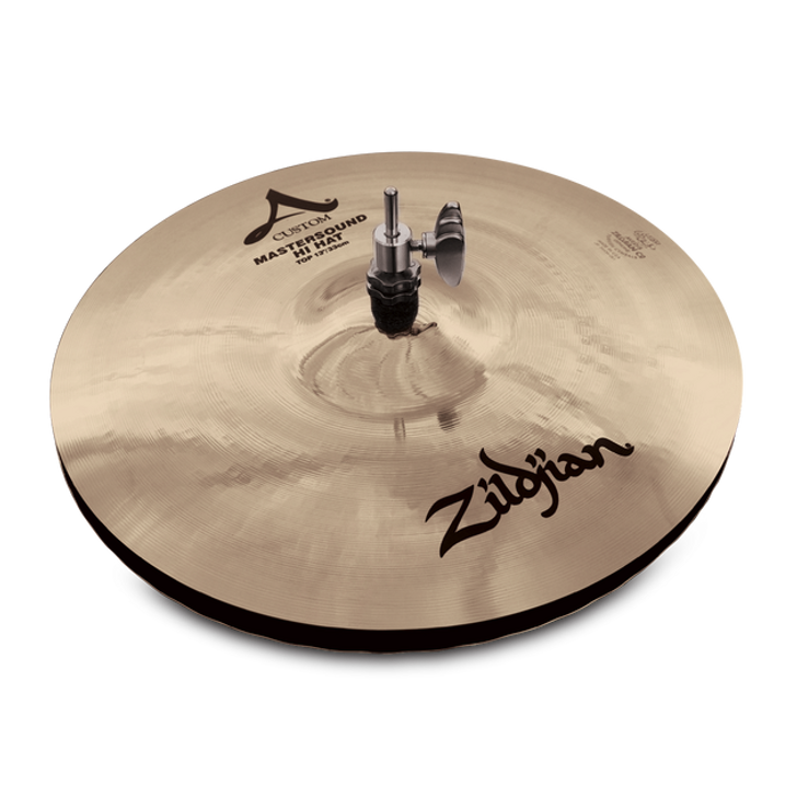"Zildjian 14"" A Custom Mastersound HiHat Cymbal Pair"