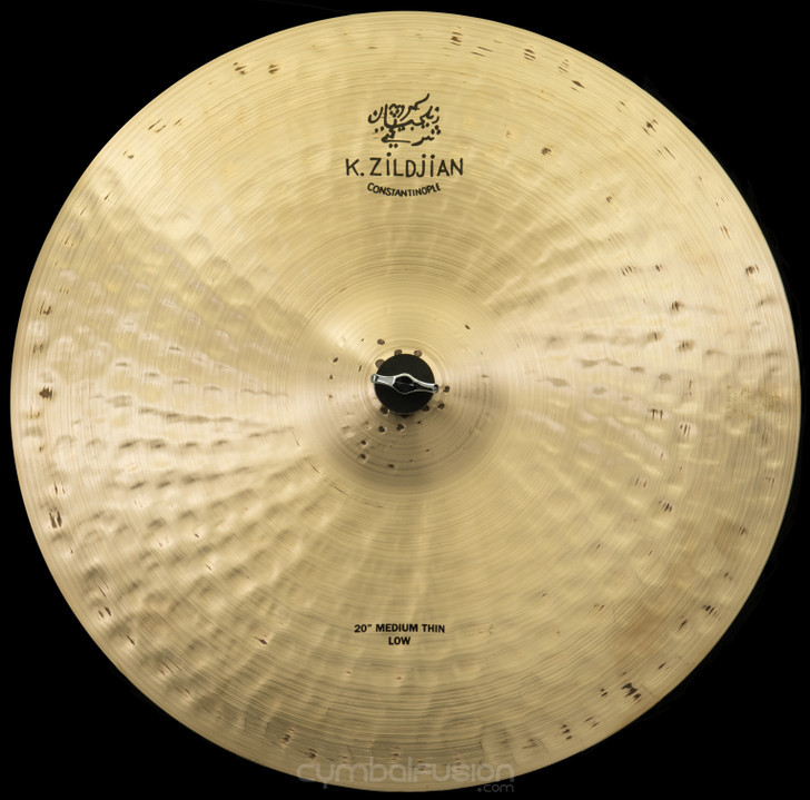 "Zildjian 20"" K Constantinople Ride Cymbal Medium Thin Low"