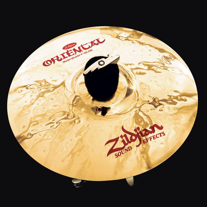 "Zildjian 9"" Oriental Trash Splash Cymbal"