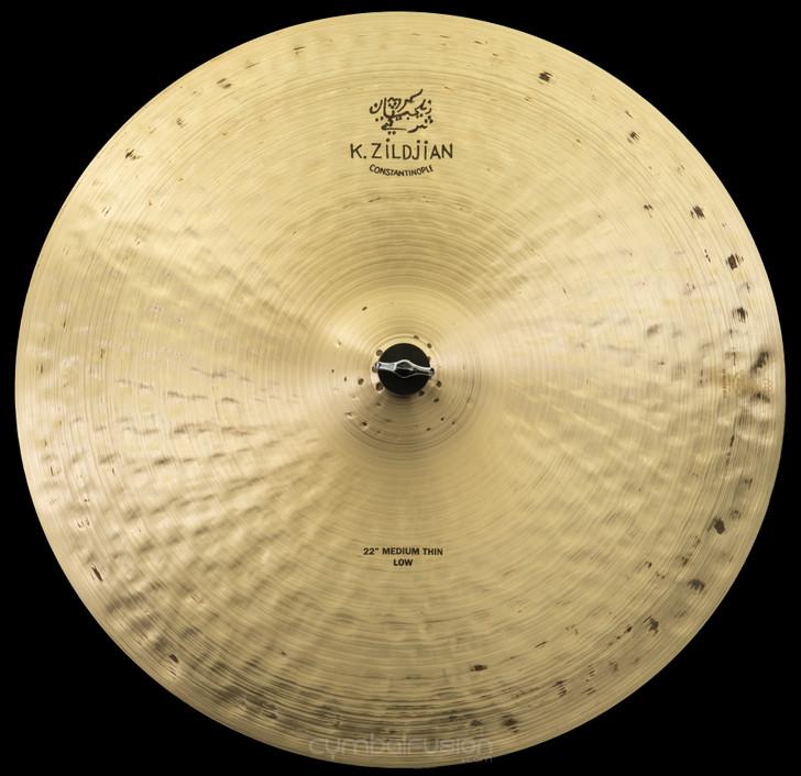 "Zildjian 22"" K Constantinople Ride Cymbal Medium Thin Low"
