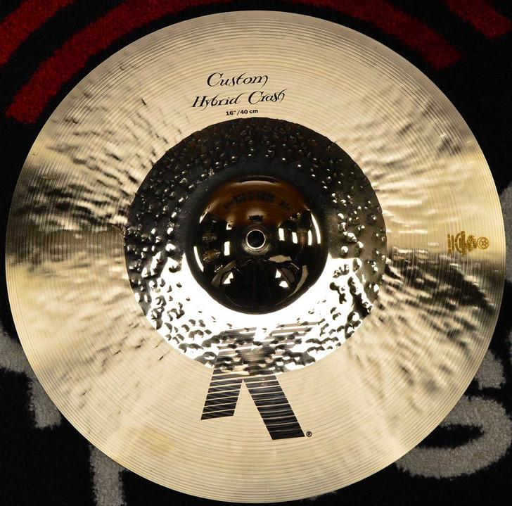 "Zildjian 16"" K Custom Hybrid Crash Cymbal"