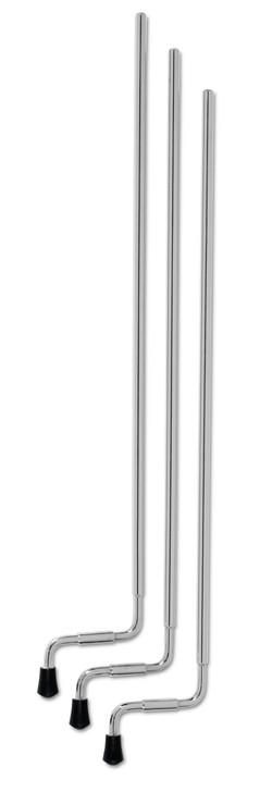 DW Tom Legs, 27'', Aluminum (3 Pk) DWSMFLT27AL
