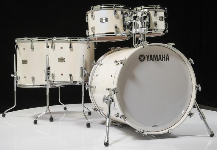 Yamaha Absolute Maple Hybrid 6pc Polar White 10/12/14/16/22/14SD
