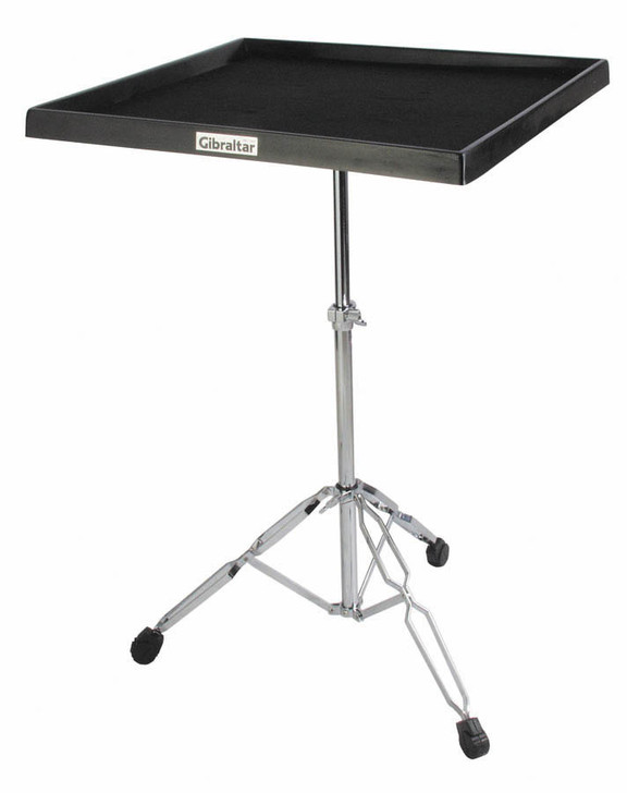 Gibraltar 7615 Percussion Table on Double Braced Stand