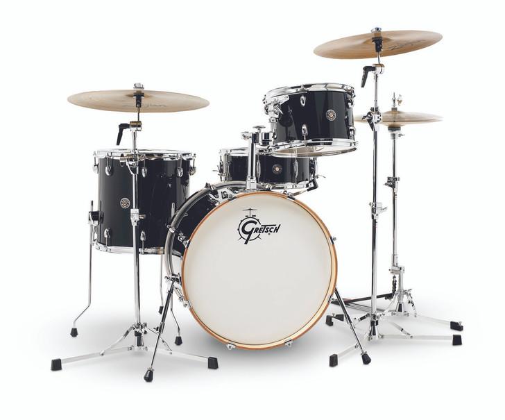 "Gretsch Catalina Club Jazz 4-Piece Shell Pack 20"" Piano Black"