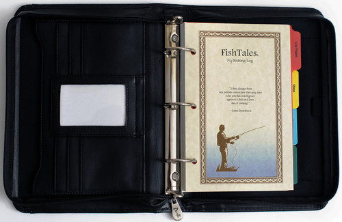 FishTales Fly Fishing Journal to capture your fishing memories.