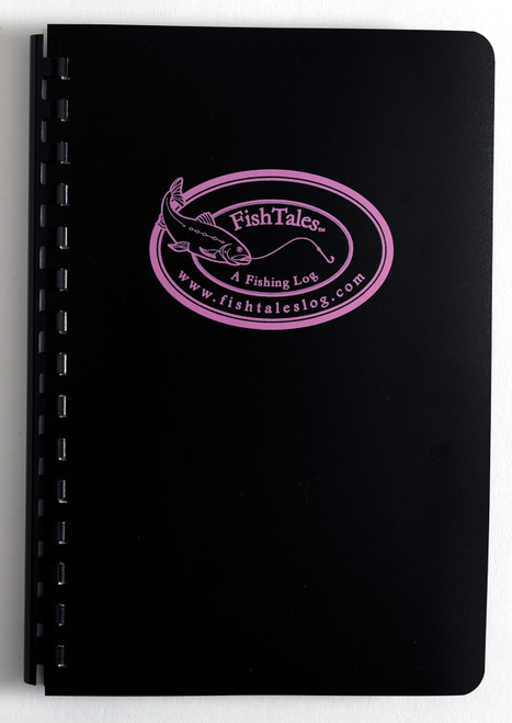 FishTales Ladies Fly Fishing Log Book a durable fishing journal.